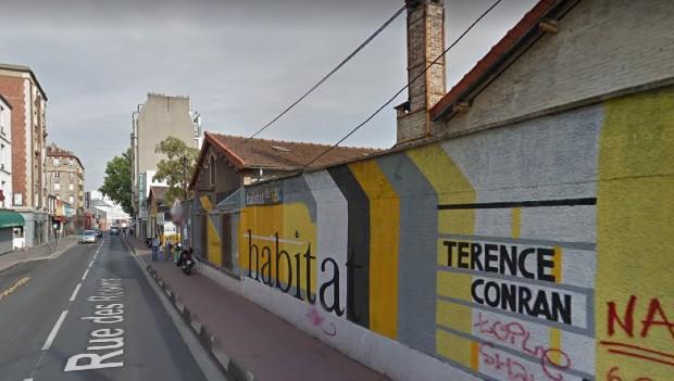 Saint-Ouen ancien site des usines Wonder ©️ Google Street View