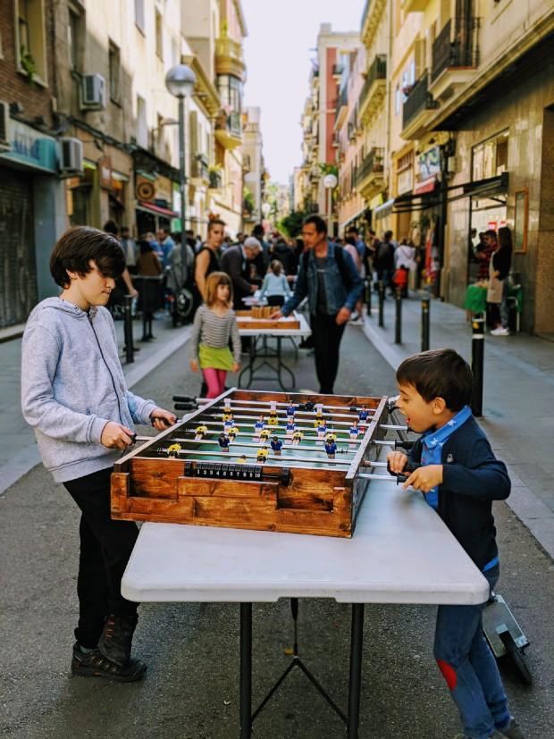 la ville et les enfants