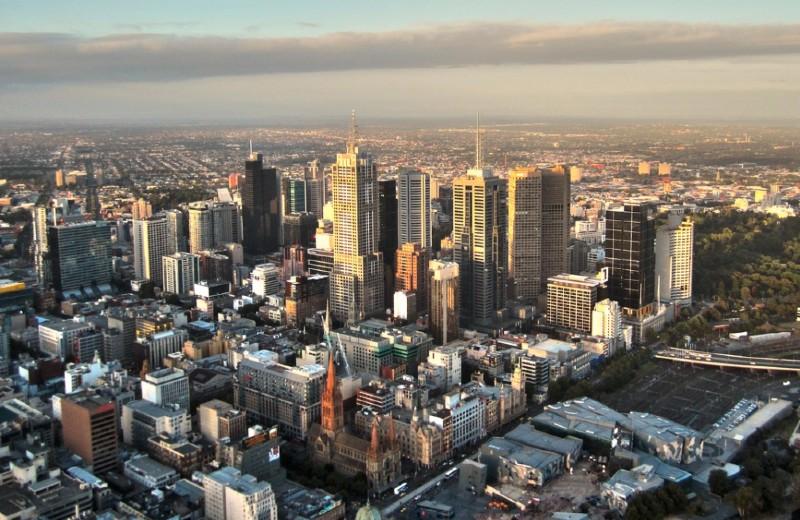 Paysage de Melbourne ©️moerschy via Pixabay