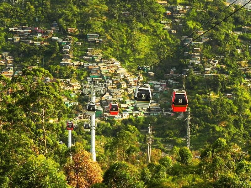 Le metrocable de Medellin : pilote de la mobilité de demain ?
