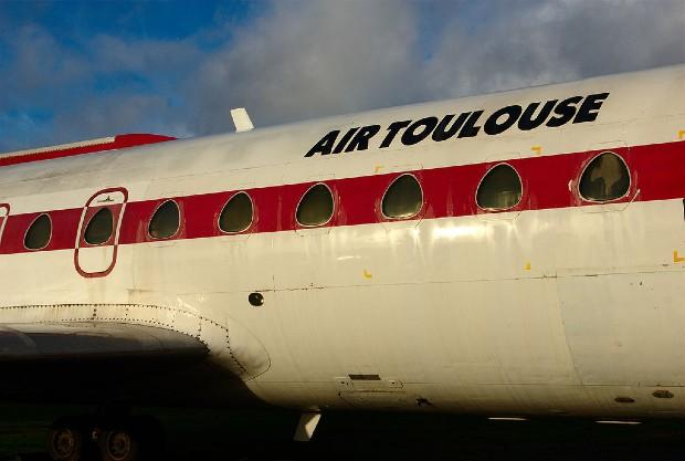 Avion aux couleurs d'Air Toulouse - Duch.seb CC BY-SA 3.0