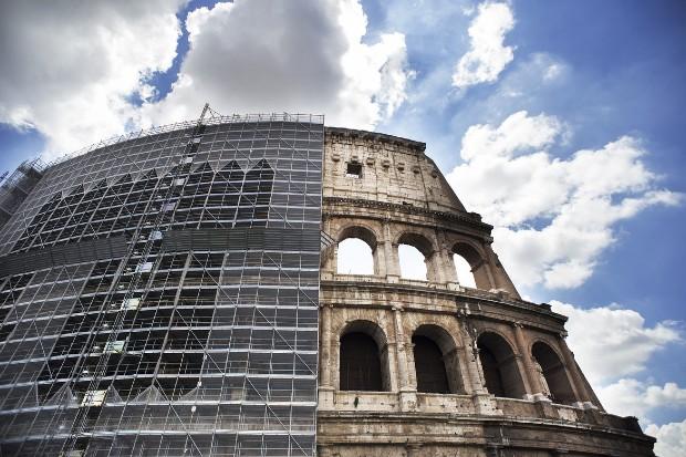 Rénovation du Colisée financée par la marque de chaussure italienne Tod's - Tod's