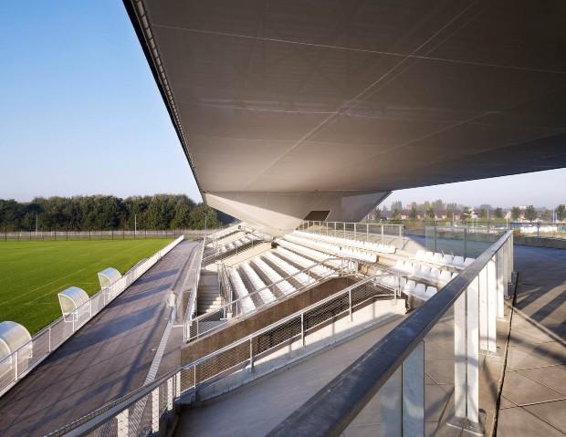 Stadium du Littoral ©Julien LANOO - OLGGA Architectes