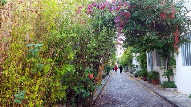 Rue des Thermopyles à Paris Crédits photo : Eat Girl Blog