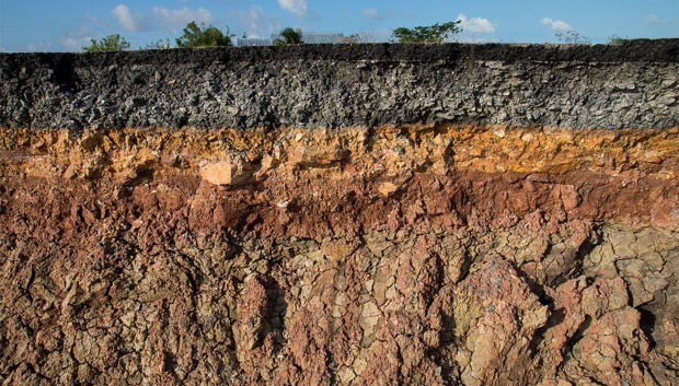 Les différentes couches d'un sol - Shutterstock
