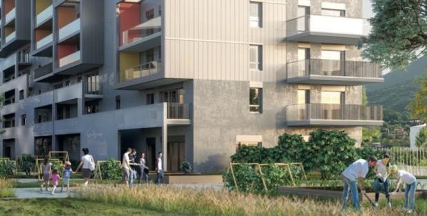 Résidence ABC - crédit Valode & Pistre Architectes
