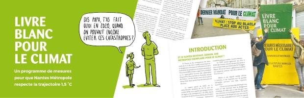 Livre Blanc pour le climat de Nantes ©️Alternatiba Nantes