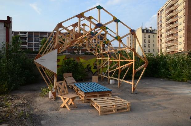 Un des projets menés par Yes we camp à Aubervilliers via flickr
