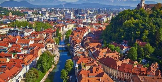 Ljubljana - crédits : Janez Kotar, Wikipedia