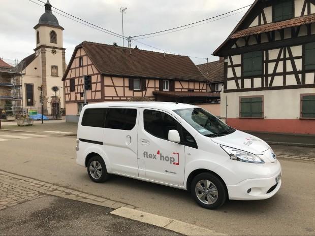Service Flex'Hop ©️ Padam Mobility