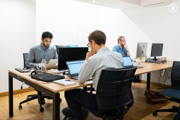 L'équipe de Padam Mobility en plein travail ©️ Padam Mobility