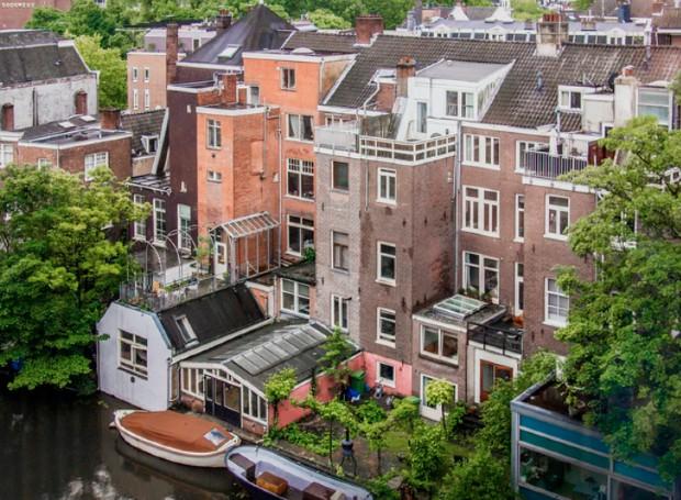 Vue d'Amsterdam © Daria Nepriakhina via Unsplash