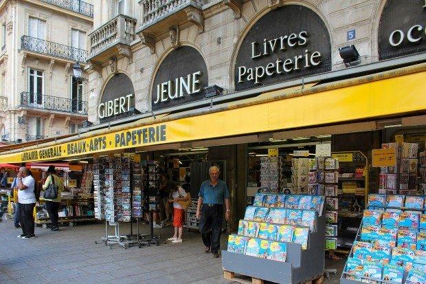 La librairie Gibert Jeune du quartier Saint-Michel, 5ème arrondissement de Paris ©ActuaLitté via Flickr
