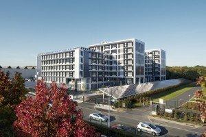 Green Office, à Meudon. Architecte : Ateliers 115 / Photographe : Eric Sempé