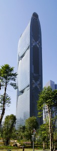 Pearl River Tower, en Chine. Architectes : SOM / Photographe : Brad Wilkins