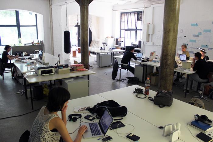 Coworking space à Berlin