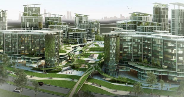 Favorit Villes du futur : les projets le plus fous des cités futuristes (2  YK51
