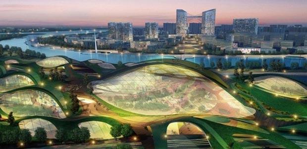 Extrem Villes du futur : les projets le plus fous des cités futuristes (2  QP98