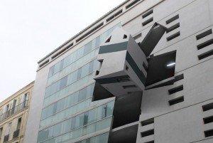 Le projet Pop-Up House par l'artiste Gilles Desplanques à Marseille © http://projets-architecte-urbanisme.fr/
