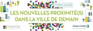 Concours We Love Words : Les nouvelles proximité(s) dans la ville de demain