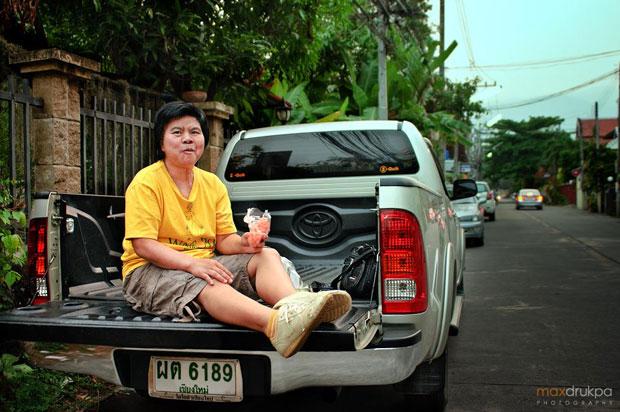 """A few people of Chiang Mai"", photos de Max Drukpa"