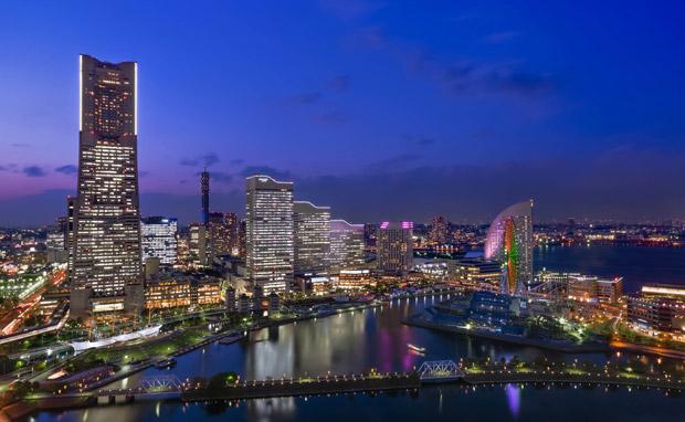 La ville de Yokohama, au Japon, est l'une des grandes métropoles mondiales les plus en pointe en matière d'utilisation des technologies numériques. Copyright : Arnaud Fougerouse / Flickr