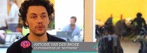 Antoine Van Den Broek, co-fondateur de Mutinerie