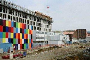 Le bâtiment construit pour accueillir l'atelier Trans305 a été démonté fin 2011. Les matériaux le constituant ont été réutilisés pour construire un autre projet architectural sur la ZAC du Plateau d'Ivry-sur-Seine. Copyright : Atelier Trans305