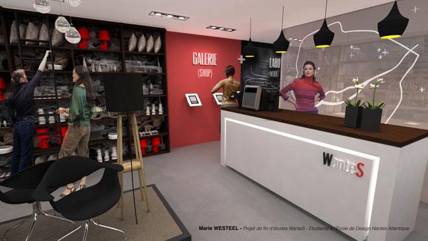 Marie Westeel a créé un concept store dédié à la promotion de l'entreprenariat local. ©Marie Westeel