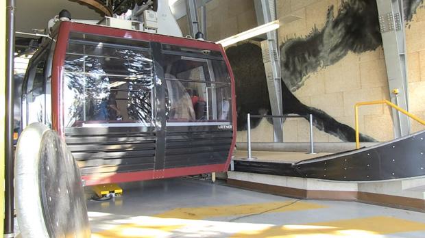 Le projet Televal s'inspire notamment du téléphérique urbain mis en place dans la ville de Bolzano, en Italie. Copyright : Televal WebTV