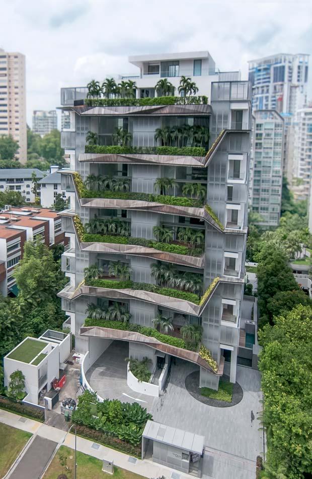 The Oliv, à Singapour