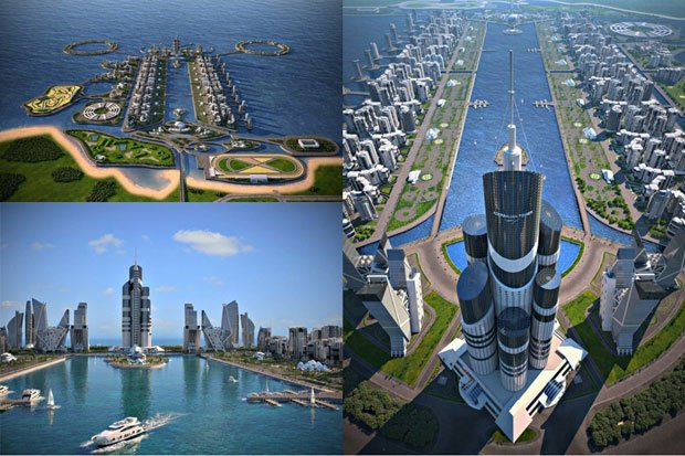 L'Azerbaijan Tower, à Bakou. Copyright : Avesta Concern