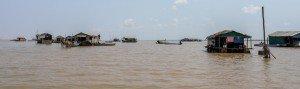Le lac Tonlé Sap au Cambodge. Crédits : Architecture by Road