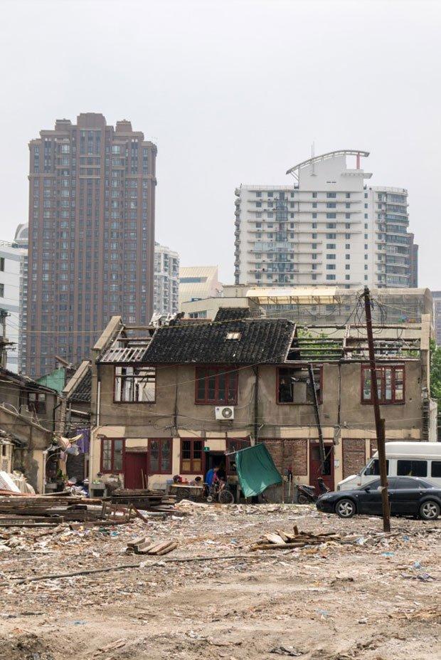 A Shanghai, les Lilongs sont en voie de disparition (Crédit photo Antoine Dubois)