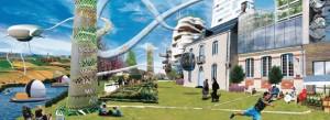 Ville grenier 2050 - Manon Diesnis, Baptiste Lambert, Prune Ferré et Léonie Patron