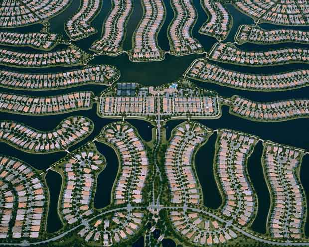 Étalement urbain sur l'île de Skye en Floride. Copyright : Christoph Gielen