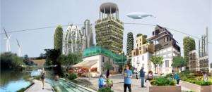 Ville verte autosuffisante et pratiques alimentaires | Demain La Ville