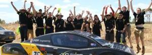 La voiture solaire Sunswift eVe a été conçue par des étudiants australiens. Copyright : Prince Arutha / Wikimedia