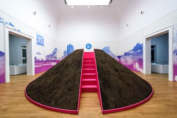Le pavillon britannique célèbre la culture pop comme expression et représentation de la modernité.  Copyright : Andrea Avezzù / Courtesy la Biennale di Venezia