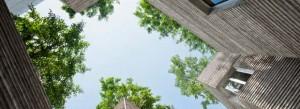 En 2014, le magazine anglais Architectural Review a décerné à la House for Trees de Vo Trong Nghia le prix de la « maison de l'année ». Copyright : Hiroyuki Oki