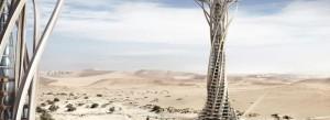 Le projet « Babel Sand » a été primé dans le cadre du concours d'architecture Evolo, organisé en mars 2014. Copyright : Qiu Song / Kang Pengfei / Bei Ying / Ren Nuoya / Guo Shen / Evolo
