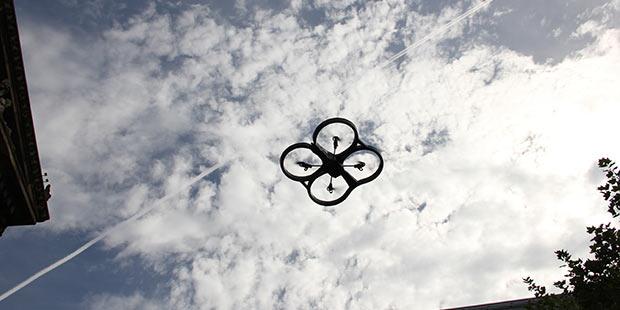 Drone ciel - Preston ; Crédits : John Mills