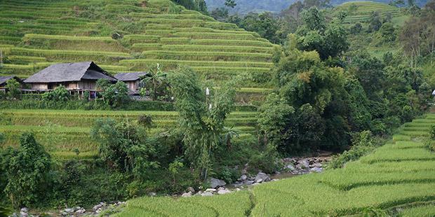 Habitat Vietnamien - Ha Giang ; Photographe : Clément Pairot