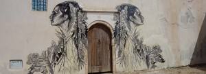 Village Tunisien street art - Eriadh ; Copyright : Rani777 (Baha-Eddine MKD / Wikimedia)