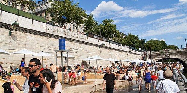 Paris plage - Paris ; Crédits : Besopha