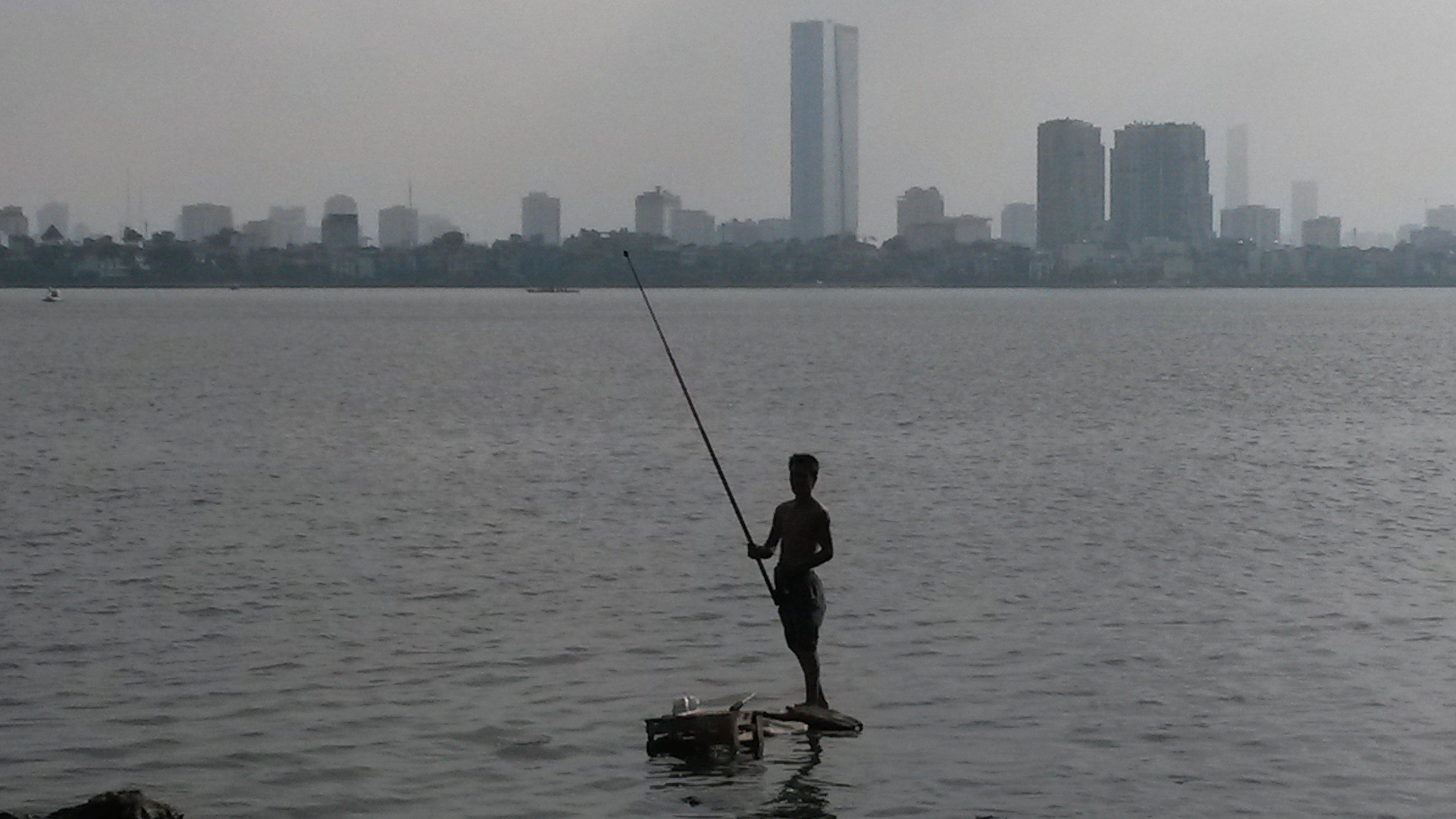Vue panoramique - Hanoi : Crédits : Clément Pairot