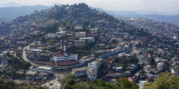 Village suspendu - Nagaland ; Crédits : Clément Pairot