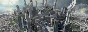 Demain la Défense - Paris ; Crédits : Crédits : François Schuiten / Institut Passion for Innovation de Dassault Systèmes