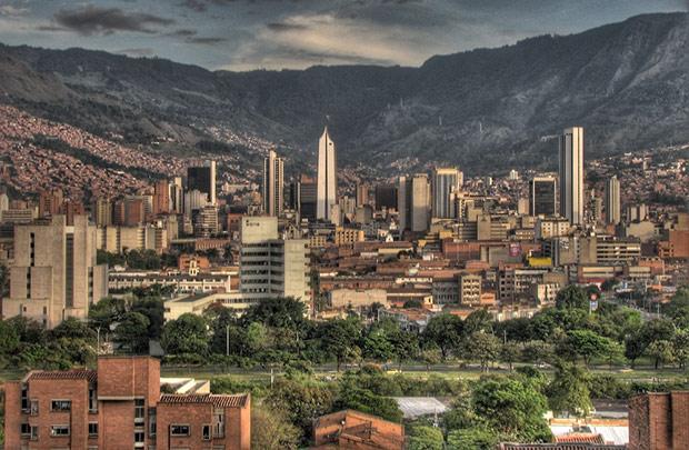 Medellin - Colombie ; Crédit : David Pena / Wikimedia