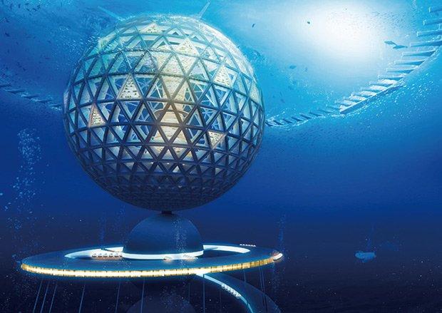 Sphère ; Copyright : Shimizu Corp.
